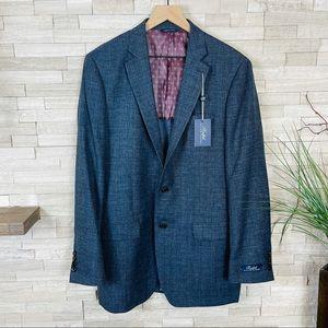 Ralph Lauren Men's Blue Wool/Linen Blazer NWT $295